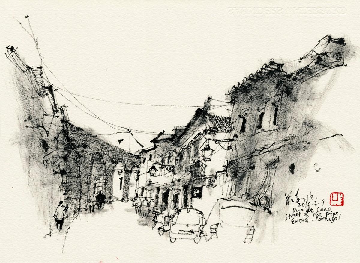 20160309 Rua do Cano, Evora