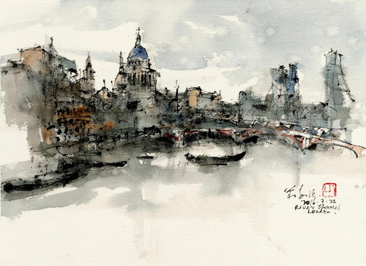 20160722 River Thames, London